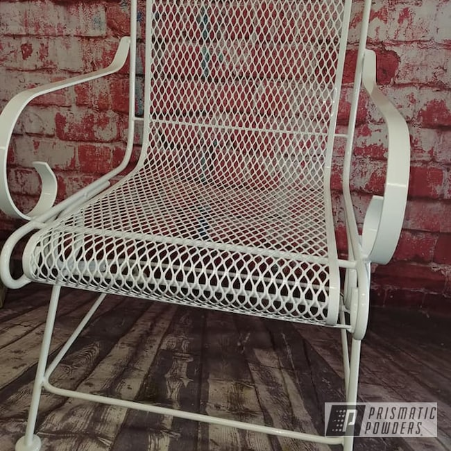 Powder Coating: Patio Furniture,Patio Chair,Gloss White PSS-5690,Lawn Chair,Miscellaneous