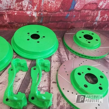 Powder Coated Powder Coated Custom Brake Parts In Pss-1221