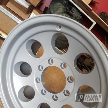 Powder Coated Powder Coated 18 Inch Aluminum Wheels In Psb-6814