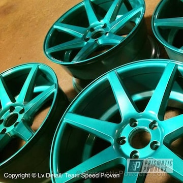 Hd Teal With Clear Vision Top Coat