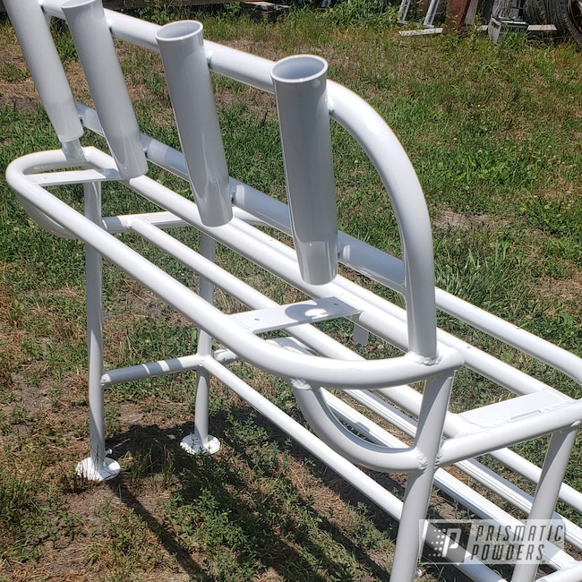 Powder Coating: Bench,Boat,White PSB-6893,Frame