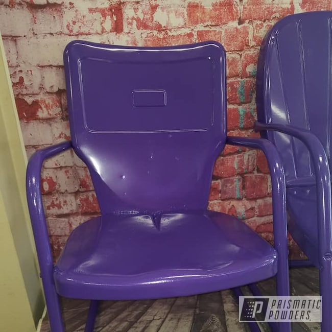 Powder Coating: Patio Chairs,Patio Furniture,Outdoor Furniture,Lawn Chairs,Crimson Purple PMB-2054