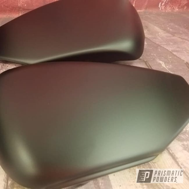 Powder Coating: Automotive,BLACK JACK USS-1522,Motorcycle Parts,Side Covers,Motorcycles