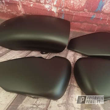Powder Coated Motorcycle Side Covers In Uss-1522