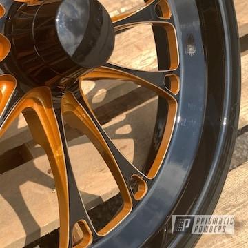 Powder Coated Weld Racing Drag Wheels