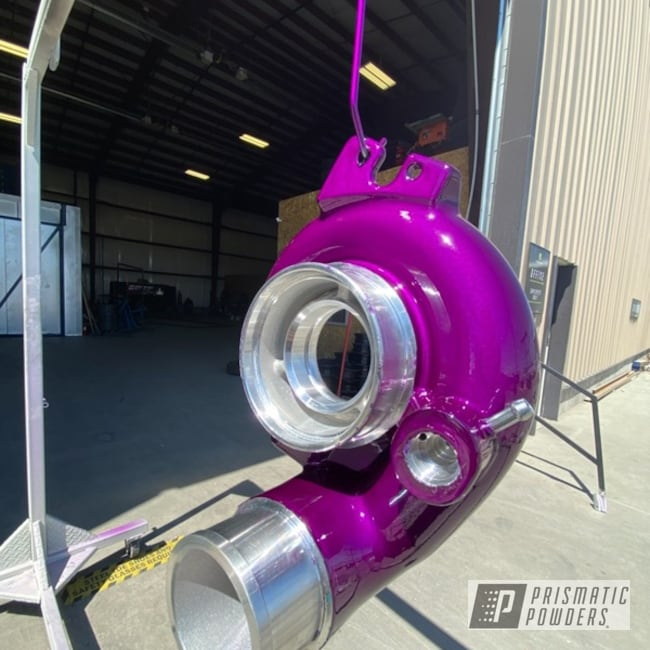 Powder Coating: Automotive,Clear Vision PPS-2974,Turbo,Illusion Violet PSS-4514