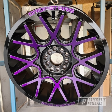 Powder Coated Two Toned Jeep Rims And Suspension Parts