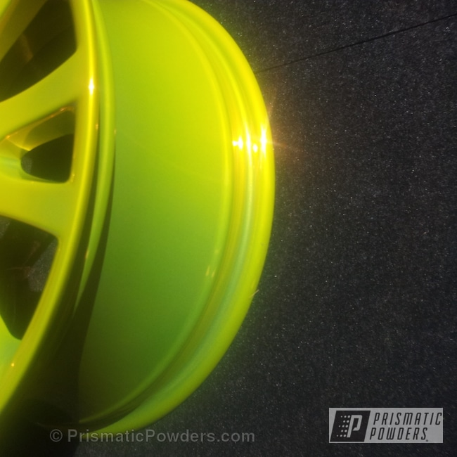 Powder Coating: Wheels,Renault,Psycho Lemon PPB-2366