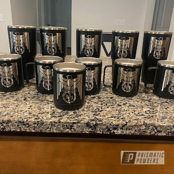 Powder Coated Powder Coated Custom Tumbler Cups In Uss-1522