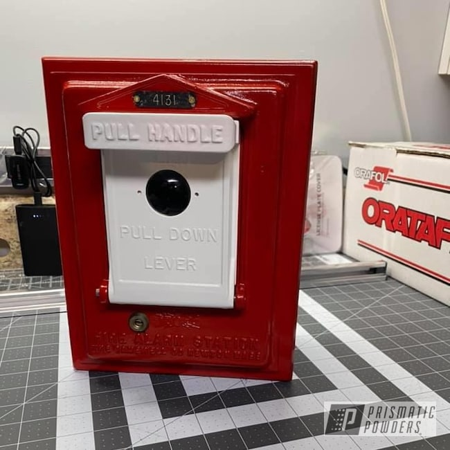 Powder Coating: Antique,Fire Alarm,Very Red PSS-4971,Gloss White PSS-5690