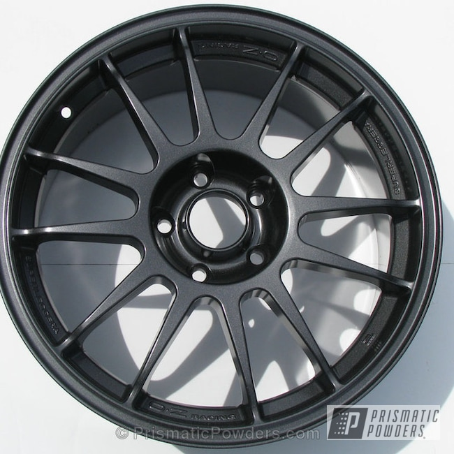 Powder Coating: Wheels,Custom,powder coating,powder coated,Grey,Prismatic Powders,Crystal Grey PMB-5913