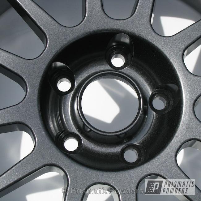 Powder Coating: Wheels,Custom,powder coating,powder coated,Prismatic Powders,Crystal Grey PMB-5913,grey
