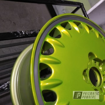 Powder Coated Wheels In Hss-2345 And Ppb-2448