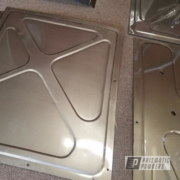 Powder Coated Interior Panels For A Pickup In Pps-2974