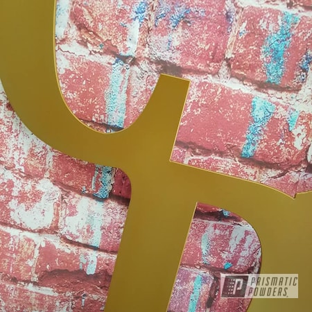 Powder Coating: Coppersun PPB-2823,Metal Art,Plasma Sign,Custom Sign,Metal Sign