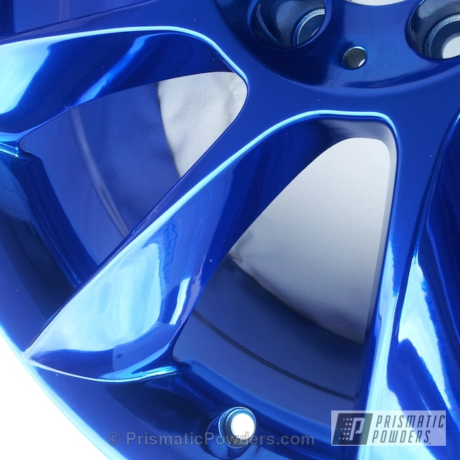 Powder Coating: Wheels,Mercedes,LOLLYPOP BLUE UPS-2502