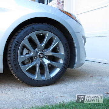 Powder Coated Hyundai Genesis Coupe Rims In Pmb-5969