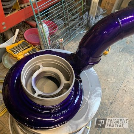 Powder Coating: Automotive,Turbo,Ford,HAWAIIAN BLUE PPB-4446,Automotive Parts