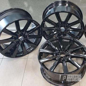 Powder Coated Set Of 19 Inch Lexus Wheels In Pss-0106