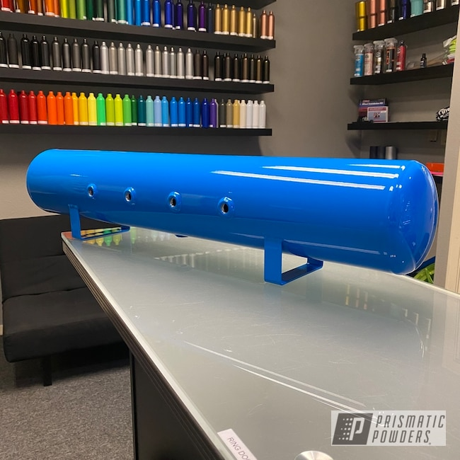 Powder Coating: Air Tank,Clear Vision PPS-2974,Playboy Blue PSS-1715,Air Ride