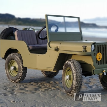 Powder Coated Toylander Willys Jeep In Psb-4944