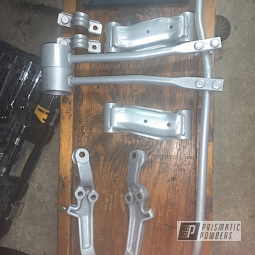 Powder Coated Nissan Suspension Parts In Pps-2974 And Pmb-8173