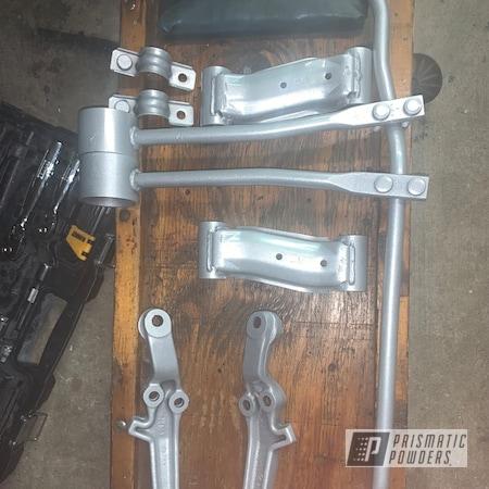 Powder Coating: GTR,Automotive,Clear Vision PPS-2974,Nissan,Platinum Silver PMB-8173,Car Parts,Suspension