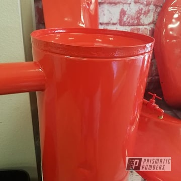 Powder Coated Tractor Restoration In Pss-1429