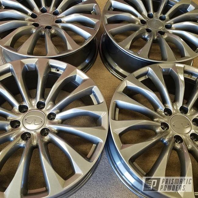 "Powder Coating: Wheels,19"",Clear Vision PPS-2974,Aluminum Rims,Kingsport Grey PMB-5027,Toyota,19"" Aluminum Rims,Automotive Rims,Aluminum Wheels"