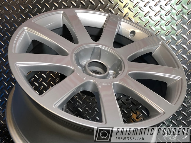 "Powder Coating: Wheels,BMW Silver PMB-6525,Automotive,Clear Vision PPS-2974,18"",18"" BMW Wheels,18"" Audi Wheels"