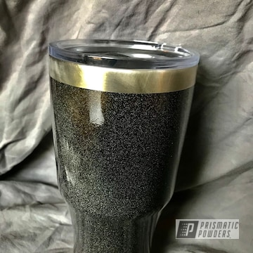 Powder Coated Custom Tumbler In Pps-2974 And Pmb-4454