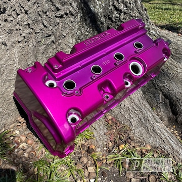 Powder Coated Acura Valve Cover In Pps-2974 And Pss-4514