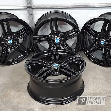 Powder Coated Bmw 650i Wheels In Uss-2603