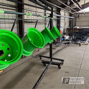 Powder Coated Set Of Rockin Rims In Pss-1221