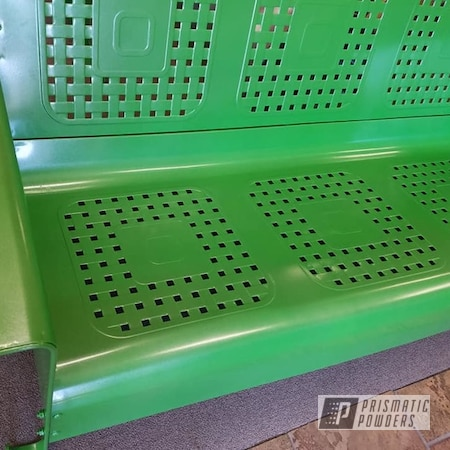 Powder Coating: Patio Furniture,3 Person Glider,Glider,Outdoor Furniture,Granny Smith Green PMB-2733,Patio Chair,Patio Bench