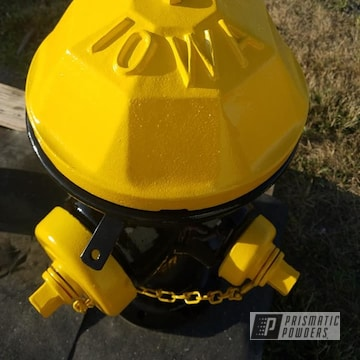 Powder Coated Vintage Fire Hydrant In Pss-0106 And Ral 1003
