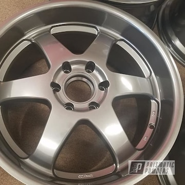 Powder Coated 19 Inch Aluminum Wheels In Pmb-5531