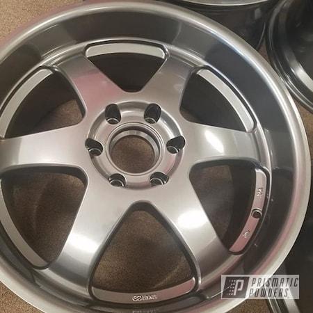 """Powder Coating: Wheels,19"""" Wheels,Automotive,19"""" Aluminum Rims,Ultra Charcoal PMB-5531,Automotive Rims,Aluminum Wheels"""