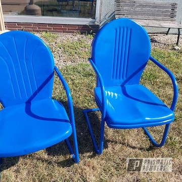 Powder Coated Vintage Lawn Chairs In Pmb-0770