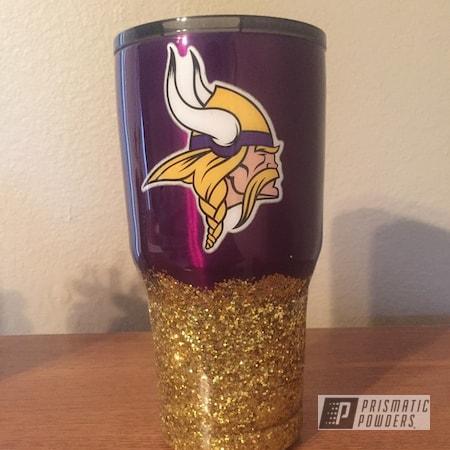 Powder Coating: LOLLYPOP GRAPE UPS-1511,Tumbler,Tumbler Cup,NFL Theme,NFL,Custom Tumbler,NFL Football