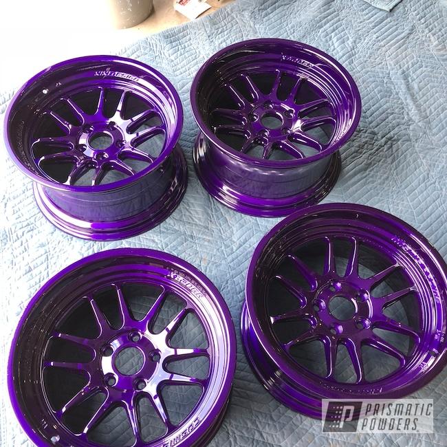 "Powder Coating: Illusion Purple PSB-4629,Wheels,19"" Wheels,Automotive,19"" Aluminum Rims"