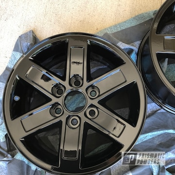 Powder Coated Aluminum Wheels In Pss-0106