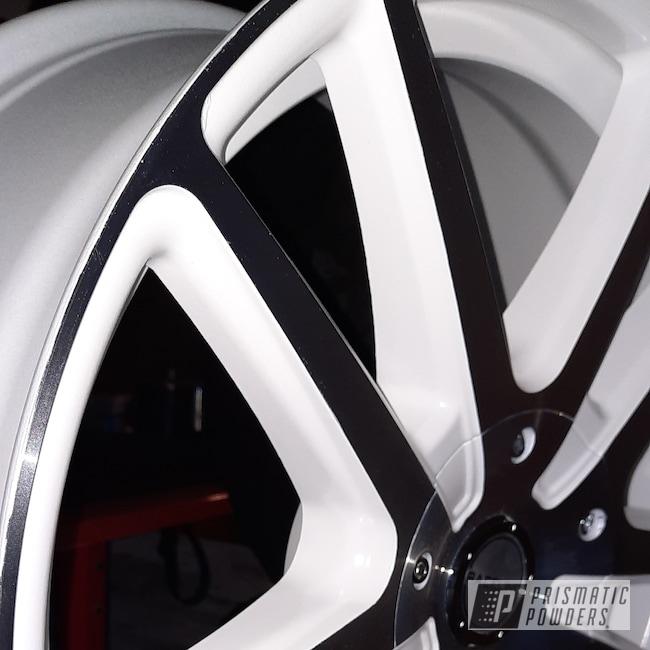 "Powder Coating: Wheels,19"" Wheels,Automotive,Soft Cloud White PSB-10052,19"" Aluminum Rims"