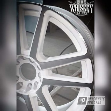 Powder Coated 19 Inch Aluminum Wheels In Psb-10052