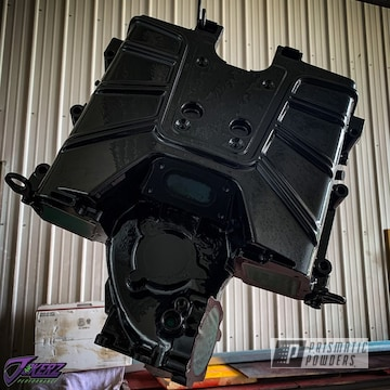 Powder Coated Ported Audi Supercharger Engine In Pss-0106