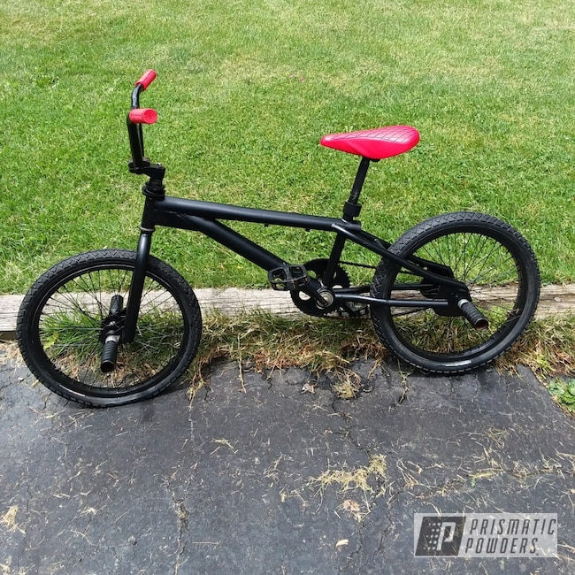 Powder Coating: Bicycles,BLACK JACK USS-1522,BMX Bike,BMX,Bicycle Frame