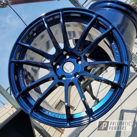 Powder Coating: Wheels,Automotive,370z,rockin rims,Clear Vision PPS-2974,Nissan,RAYS Wheels,Applied Plastic Coatings,Misty Midnight PMB-4239