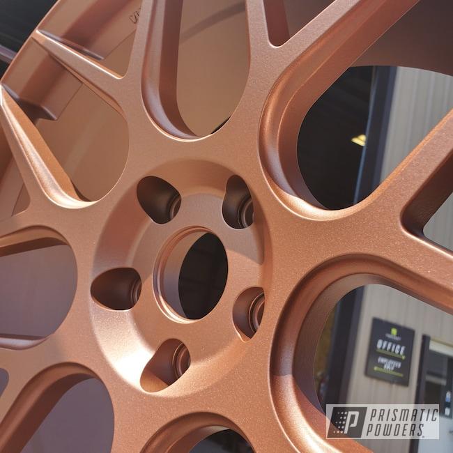 Powder Coating: Wheels,Automotive,Fireside Copper PMB-4934,Automotive Wheels