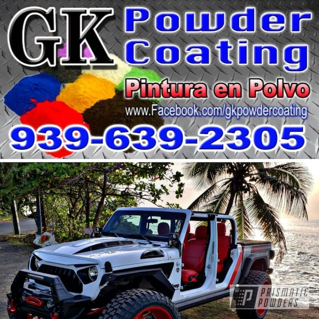 Powder Coating: Wheels,BMW Silver PMB-6525,Automotive,Clear Vision PPS-2974,Illusion Red PMS-4515,Jeep,26