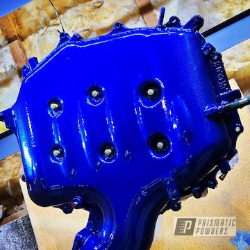 Powder Coated Refinished Intake Manifold In Ppb-6815